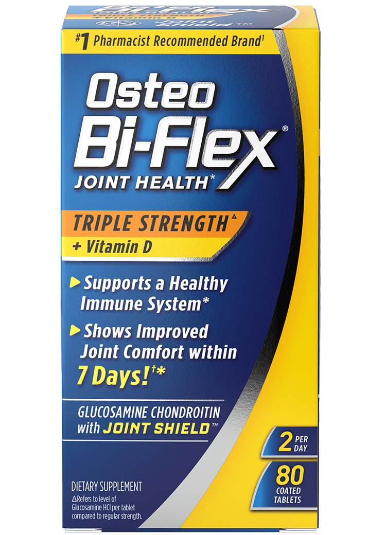 Triple Strength with Vitamin D